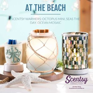 Beautiful Scentsy Beach Warmers for Sale in Clearwater, FL