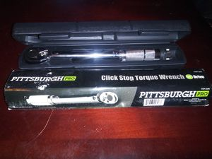 Click Stop Torque Wrench for Sale in Mesquite, TX