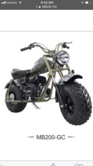 Baja mb200-gc mini bike for Sale in Oroville, CA