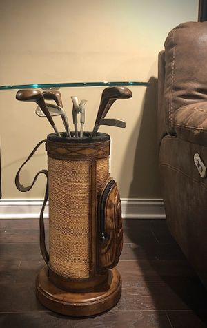 Golf bag end table for Sale in Long Grove, IL