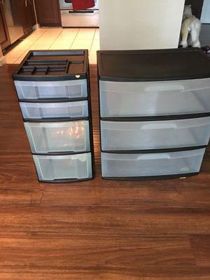 Plastic drawers for Sale in Alexandria, VA