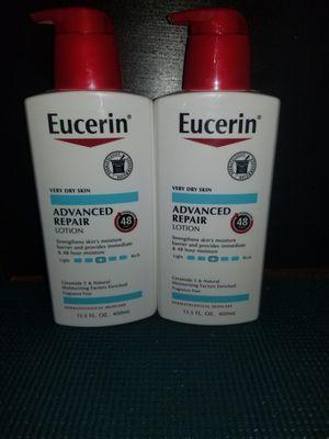 2 eucerin advance repair 13.5oz for Sale in Lanham, MD