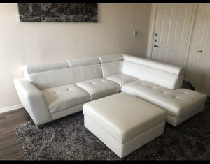 Beautiful white couch for Sale in Phoenix, AZ