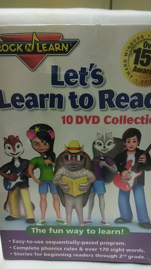 Let's Learn to Read 10 DVD Collection for Sale in Fontana, CA