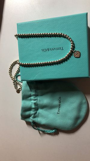 Brand New Tiffany Bead Necklace for Sale in San Jose, CA