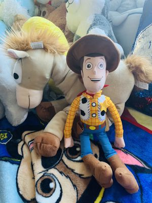Disney toy story woodie and horse for Sale in San Leandro, CA