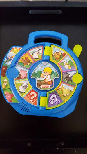 Fisherprice animal sound. Learn toy for Sale in Fairfax, VA