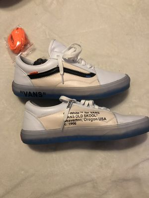 Off white vans for Sale in Pittsburgh, PA