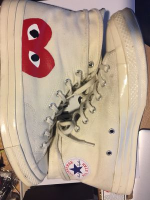 CDG PLAY CONVERSE SIZE 10 MENS for Sale in Houston, TX