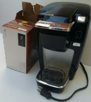 25.00 -Keurig K10 Mini Plus Coffee Maker Brewing System --Black color with chrome looking accents... for Sale in Westchester, CA