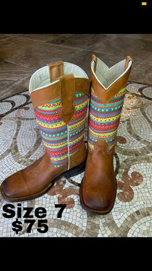 Botas de piel de México cómodas para mujer en Especial 50 for Sale in San Jacinto, CA