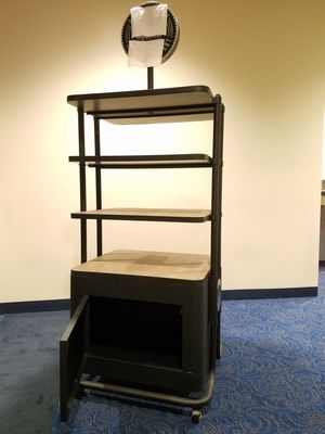 Portable display shelf storage unit. for Sale in Houston, TX
