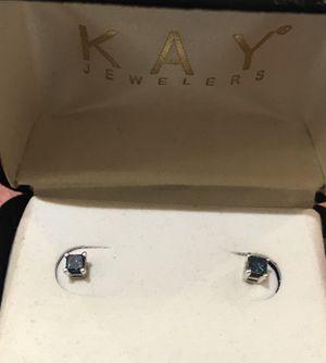 Kay Jewelers Blue Diamond Earrings for Sale in San Jose, CA