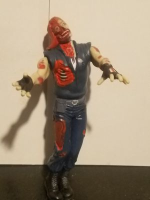 """1998 Toy Biz Capcom Resident Forest Zombie 5"""" Action Figure loose for Sale in Leander, TX"""