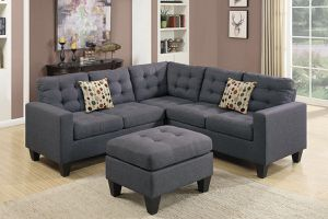 Grey sectional for Sale in Fresno, CA