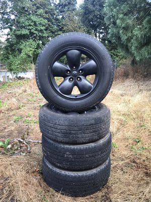 """03' Dodge Ram 1500 20"""" wheels and tires for Sale in Clackamas, OR"""