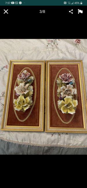 Ceramic frame 🌹 rose for Sale in Hemet, CA