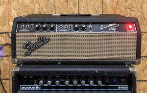 Fender BlackFace Bassman Amp Head 1965 AB165 for Sale in Baltimore, MD