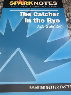 The Catcher In The Rye Spark Notes Bye J D Salinger for Sale in Barnhart,  MO