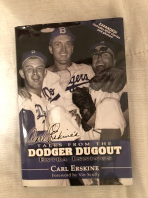 LA Dodgers Dodger Dugout extra innings Book for Sale in Mesa, AZ