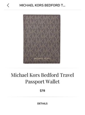 Michael Kors Passport Book for Sale in Midland, TX