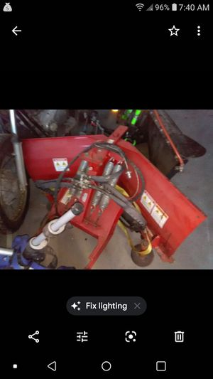 Scidster/ bobcat plow with light assembly for Sale in Philadelphia, PA