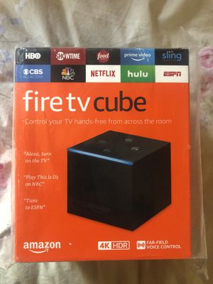 Amazon Fire TV Cube for Sale in Gig Harbor, WA