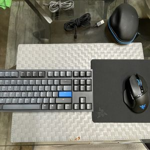 Razer Basilisk Ultimate Mouse And Ducky One 2 Keyboard for Sale in Beaverton, OR
