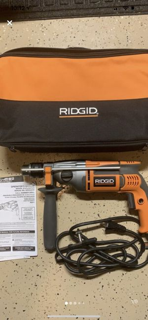 """Ridgid 1/2"""" Hammer Drill for Sale in New Market, MD"""