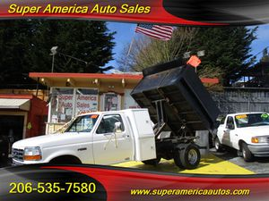 1995 Ford Dump Truck for Sale in Seattle, WA