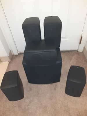 BOSTON 6 PIECE SURROUND SPEAKER SYSTEM for Sale in Lowell, MA
