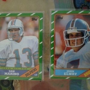 Marino And Elway Cards for Sale in Las Vegas, NV