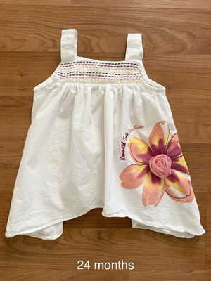Kenneth Cole Reaction flower dress, size 24 months, girls, kids summer clothes for Sale in Surprise, AZ