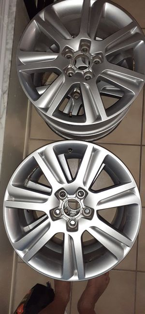 These rims are off of a 2010 Audi A4 for Sale in Winter Park, FL