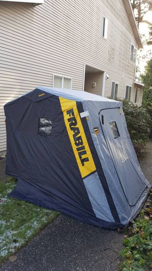 New Frabill Ice Fishing Shelter 2 person Original price $450 + tax for Sale in Everett, WA