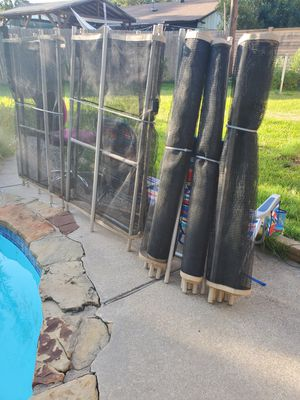 Pool fence in good condition approximately 80 feet in length for Sale in Arlington, TX