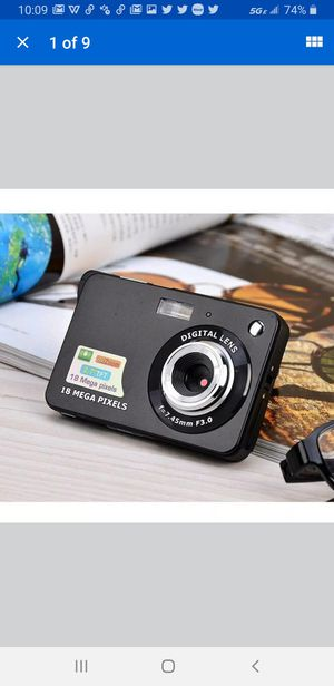 2.7 inch Ultra-thin 18 MP Hd Digital Camera Children Video Student Birthday Gift for Sale in Las Vegas, NV