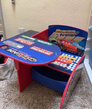 Lighting McQueen kids desk table for Sale in Rancho Santa Margarita, CA