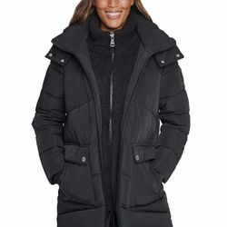 Calvin Klein Ladies' Puffer Jacket Parka Black X-Small for Sale in Los Angeles,  CA
