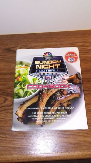 NFL Sunday Night Football cookbook for Sale in Cleveland, OH