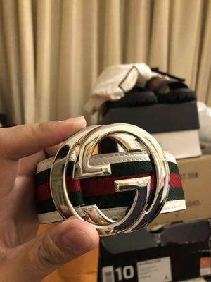 Gucci belt size 34 for Sale in San Jose, CA
