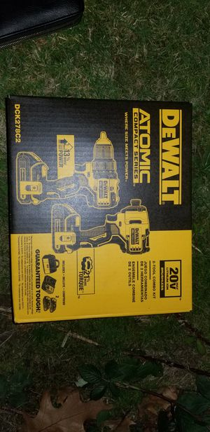 NEW never opened Dewalt 2 tool, TWO BATTERIES, charger AND carrying case! for Sale in Beaverton, OR