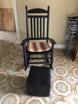 Rocking chair and ottoman for Sale in Miami, FL