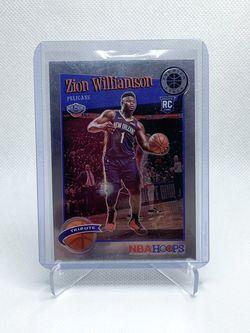 2019-20 NBA Hoops PS Zion Williamson RC Tribute for Sale in La Mesa,  CA