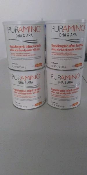 Puramino new 4 Cans $90 for Sale in Tampa, FL