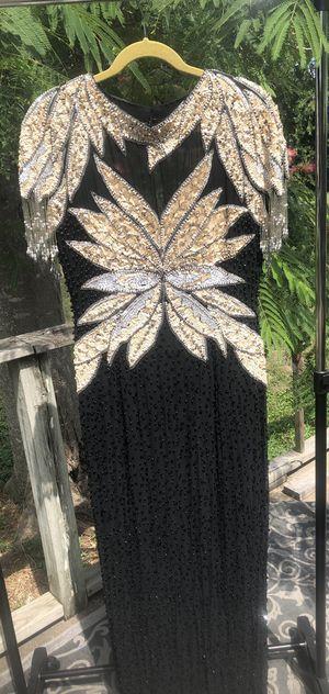 Vintage gold & black dress for Sale in Round Rock, TX