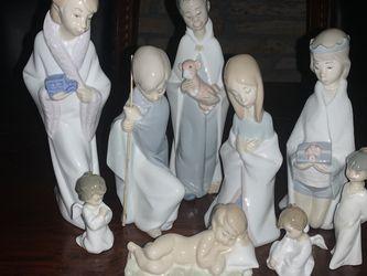 1970 Lladro Retired Nativity Scene Figurines Set for Sale in Loomis,  CA