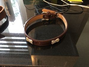 Dog collars 5$ each genuine leather! for Sale in Los Angeles, CA