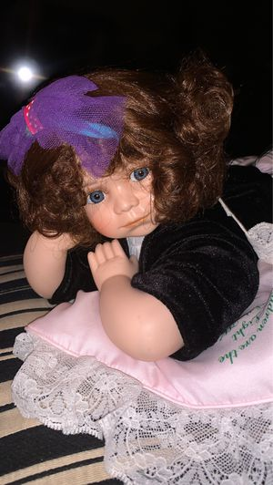Brand new baby Porcelain Doll for Sale in Oklahoma City, OK