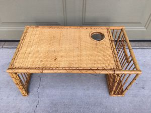 Vintage Bamboo Serving Tray for Sale in West Linn, OR